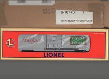 Neil Young  Box Car 6-16776 Lionel Trains 1997 Holiday RailSounds  Limited Ed.