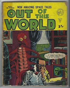 OUT OF THIS WORLD #12 BRITISH HORROR SCI-FI COMIC BOOK