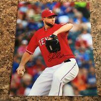 Scott Feldman Signed 8x10 Photo Chicago Cubs Texas Rangers Autograph
