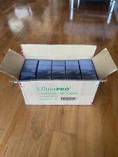 Case of 1000 ULTRA PRO 3X4 REGULAR TOPLOADERS 35pt-Lot of 40 Sealed Packs of 25!