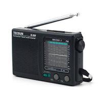 TECSUN R-909 Portable AM FM SW MW Radio Shortwave Pocket Radio Player 9 Band HK