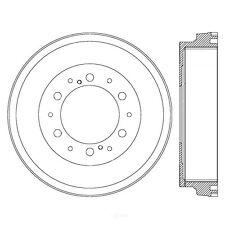 Disc Brake Pad Set-C-TEK Metallic Brake Pads Front fits 06-18 Toyota Hiace