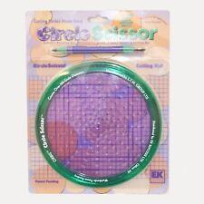 EK Success ~ Circle Scissor Scrapbooking Cutting mat pen  120 Different Circles