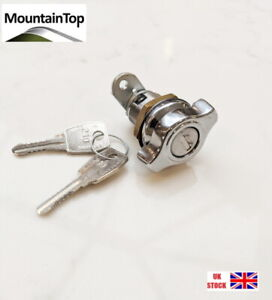 Mountain Top Classic Alloy Chequer Tonneau Cover Barrel Lock and Keys A11A