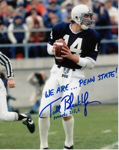 Todd Blackledge  8x10 Signed Photo w/ COA Penn State Lions #1