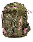 Remington Womens Canvas Backpack RealTree Hardwood Camo Pattern