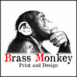 Brass Monkey Print and Design