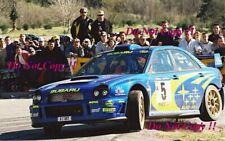Richard Burns Subaru Impreza WRC2001 Catalunya Rally 2001 Photograph 2