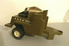 TONKA 811882-A  2 REMORQUE MILITAIRE - Porte radar jouet voiture Jeep