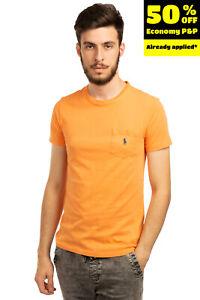 POLO RALPH LAUREN T-Shirt Top Size L Embroidered Logo Short Sleeve Crew Neck