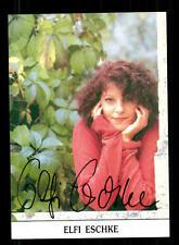 Elfi Eschke Autogrammkarte Original Signiert # BC 97063