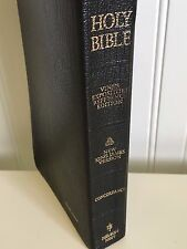 THOMAS NELSON HOLY BIBLE VINE'S EXPOSITORY REFERENCE EDITION NKJV BLACK LEATHER