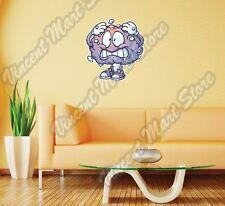 "Brain Freeze Crying Purple Funny Wall Sticker Room Interior Decor 25""X20"""