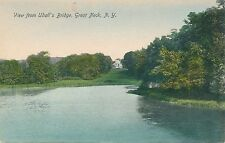 GREAT NECK NY – View from Udall's Bridge – Long Island