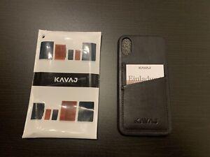 KAVAJ iPhone XS Case - schwarz - Minimalist EDC