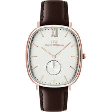 MODA Orologio HARRY WILLIAMS Uomo Pelle - HW-X2435M-13