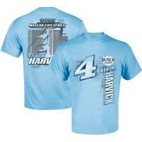 Kevin Harvick Stewart-Haas Racing Team Collection 2020 Schedule T-Shirt - Blue