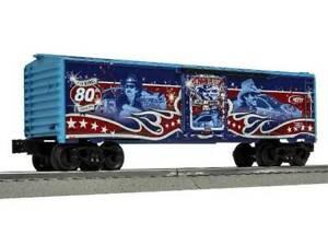 LIONEL 84610 RICHARD PETTY 80th BIRTHDAY BOX CAR