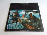 Crosby Stills & Nash Self Titled Boat Cover LP 1977 Atlantic Vinyl Record