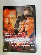 Dvd Highlander - L'Ultimo Immortale di Russell Mulcahy 1986 DVD UNIVERSAL