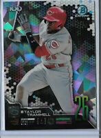 2019 Bowman Chrome Atomic Refractor Parallel Top 100 Taylor Trammell 062/150 SP
