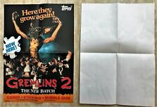 Gremlins 2, The New Batch, promotional poster for the trading cards.