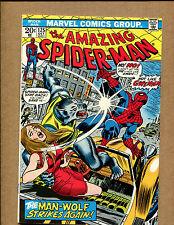 Amazing Spider-Man #125 - ManHunt - 1973 (Grade 8.0) Wh