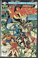 X-Men King Size Annual #5 Very Fine Claremont Badoon Marvel Comics 1981 CBX11