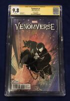 Venomverse #1 Remastered Edition McFarlane 1:1000 CGC SS 9.8 Signed by Stan Lee!