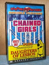 Chained Girls [1965] / Daughters Of Lesbos [1968] (DVD, 2008) NEW Linda Boyce
