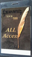 Stevie Nicks - Laminated All Access Backstage Pass - 1998 Enchanted Tour - Foil