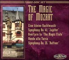 Magic of -  Mozart 3 CD SET SYMPHONY 35, 40, 41 Eine Kleine Nachtmusik  Figaro