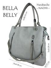 Naomi Women's Bag Handbag Hobo Tote Bag Shopper Fan Leather Art Pastel 4177-BB