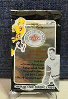 2001-02 Fleer Greats of the Game Hobby Pack (Gordie Howe Auto/Game-Used Jersey)?