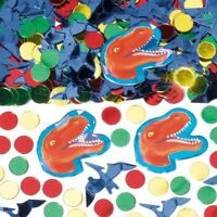 DINOSAUR PREHISTORIC Birthday Confetti Decoration Bag Fillers Party Supply Favor