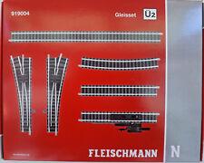 Fleischmann 919004 - N Gauge - Track Set ü2 ,Overtake 2 - New Original Packaging