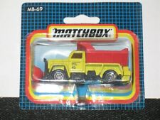 MATCHBOX HIGHWAY MAINTENANCE TRUCK (SNOW PLOUGH) MB 69G-03 (MOC)
