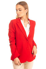 JOLIE By EDWARD SPIERS Blazer Jacket Size S Single Breasted Made in Italy