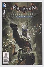 Batman: Arkham Knight-Genesis #1-3 Set 1st print DC New 52 2015 Based on game