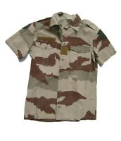 6f5c628c8b829 German flecktarn Camo Shirt Jacket w zipper size 95 w patches E9385 ...