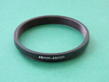 48mm-46mm 48-46 Stepping Step Down Male-Female Filter Ring Adapter 48mm-46mm