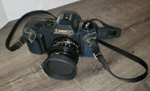 Canon T50 SLR Film camera 35mm AS IS PARTS REPAIR UNTESTED SEE PHOTOS