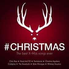 CHRISTMAS: THE BEST X-MAS SONGS EVER- CHRIS REA, COLDPLAY, PENTATONIX  2 CD NEW+