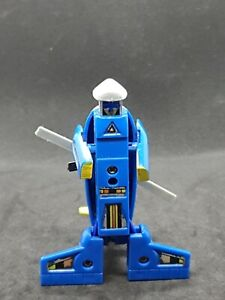 Zybots Vintage Changeable Robots Helicopter Figure Remco 1984