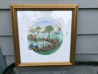 D MORGAN FRAMED PRINT LOVE IS A CIRCLE WITHOUT ENDING WEDDING