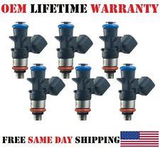 Set of 6 OEM Bosch Fuel Injectors for Dodge Ram Jeep Chrysler 3.6L (0280158233)