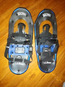 """LL Bean Blue Winter Walker 22"""" Snow Shoes Lightly Used - Nice!"""