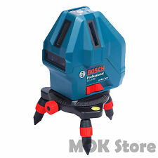 Bosch GLL 5-50X Professional 5-Line Laser Level Measure Self-Leveling Free Ship