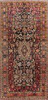 Antique Geometric Bidjar Handmade Area Rug Traditional Wool Oriental Carpet 5x9
