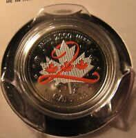 2000 - Canadian coin - Colorized Pride Maple Leaf Quarter in package